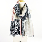 Floral Latest Fashion Design Printing Cotton Promotional Scarf