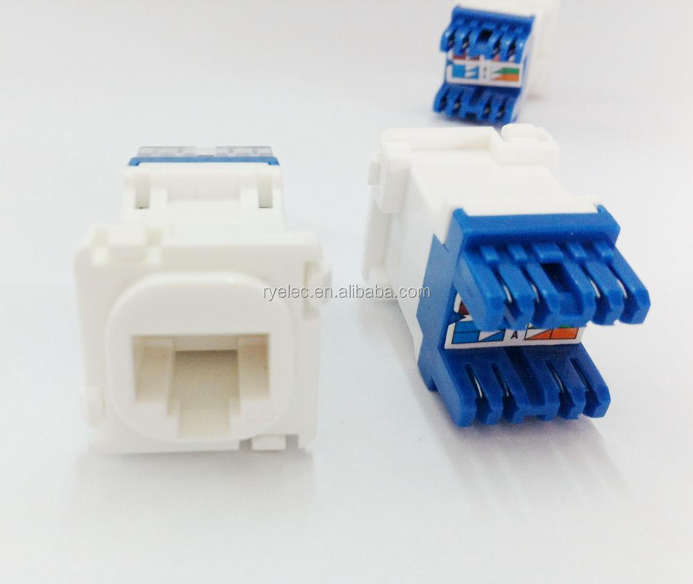 Wholesale Rj45 Female Jack Online Buy Best From Socket Wiring Australia High Quality Clipsal Cat6 Network Strongrj45 Strong 8p8c Dual