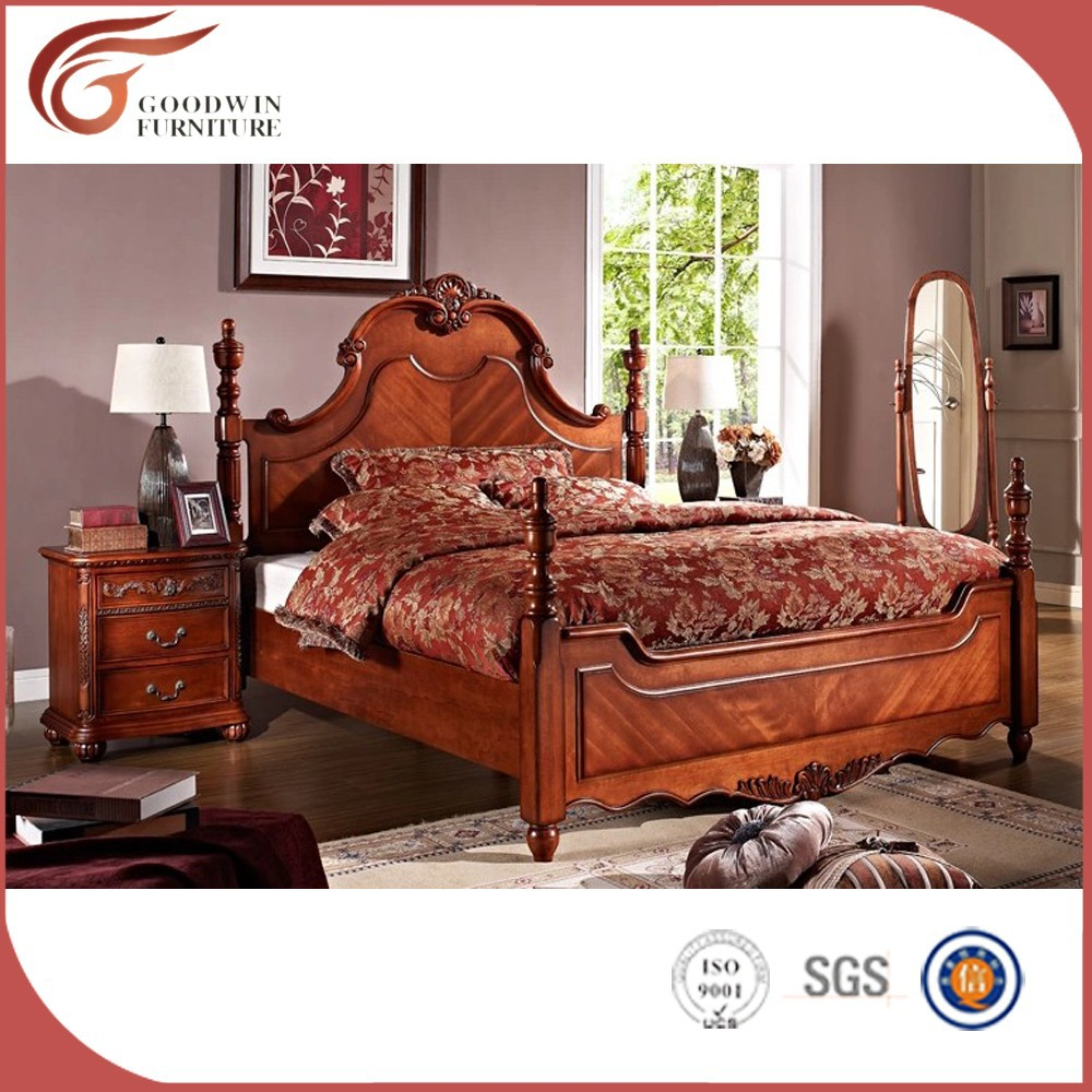 Antiguos real dormitorio, muebles europeos últimas roble dormitorios ...