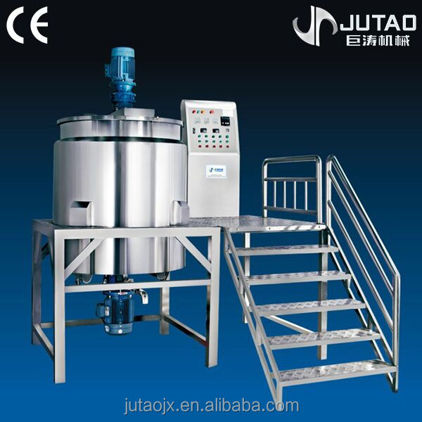 shampoo mixing machine with steam or eletric heating