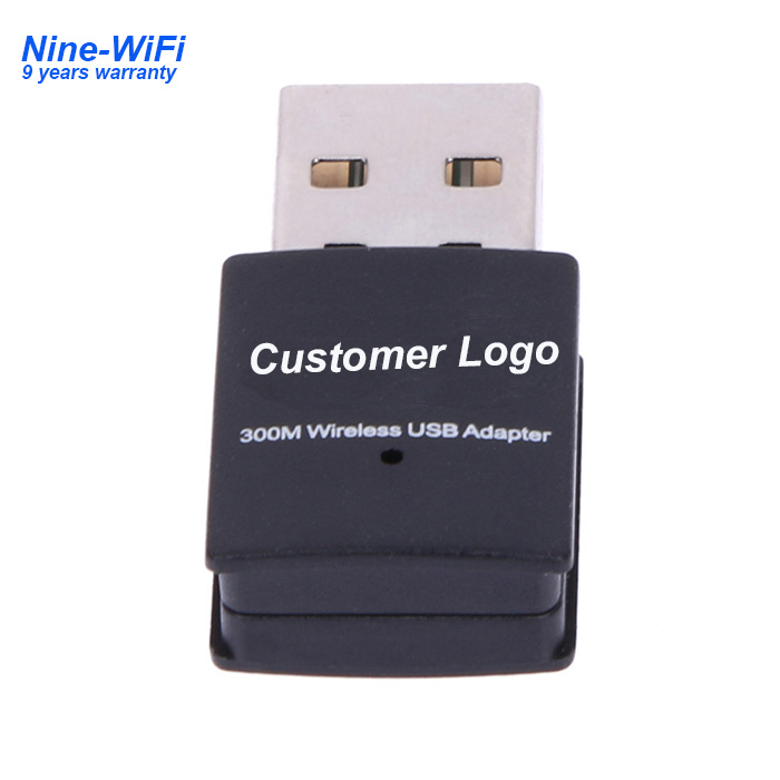 skybox network lan card nano usb wireless adapters 300mbps mini wifi usb dongle with realtek rtl8192 chipset