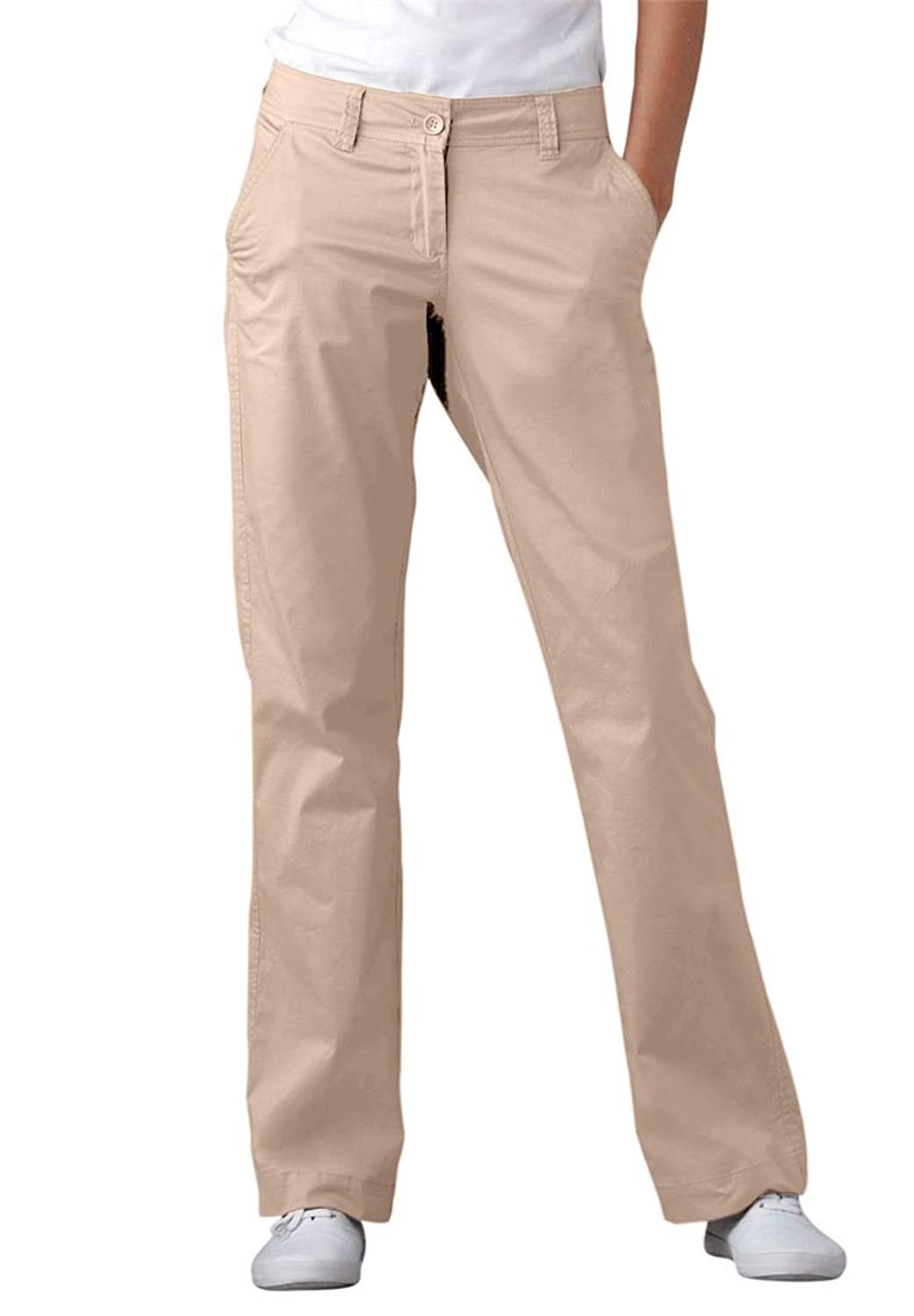 2bfce7a124a6 Get Quotations · Ellos Women s Plus Size Chinos