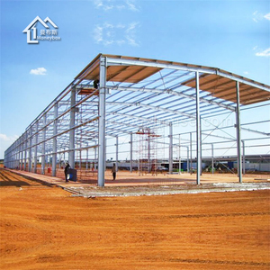 China supplier long-span steel structure framework building