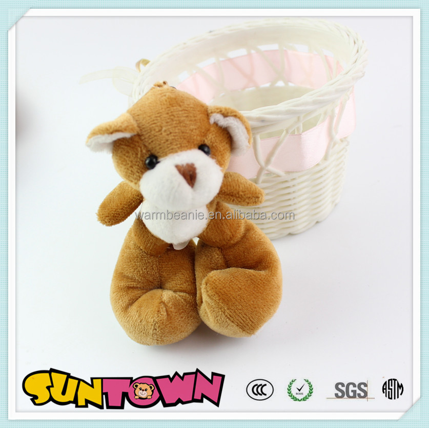 Stuffed animals make the perfect, for your child,Teddy Bear Keyring Keychain