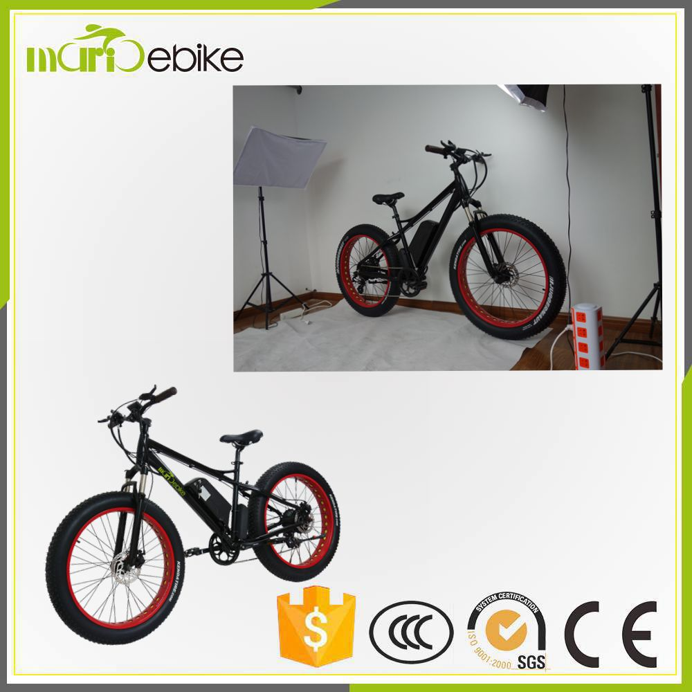 Latest Snow Electric Fat Bicycle/Electric Fat Tire Bike with 26 inch Wheel