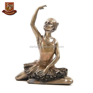 Factory price personalized resin ballerina figurine