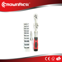 12pcs ProfessionaHigh Quality Ratchet Driver Socket Set