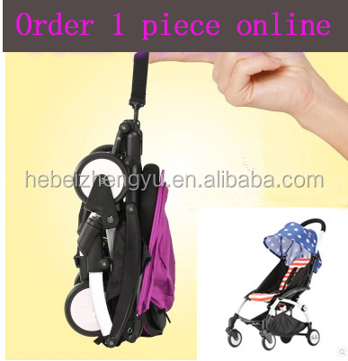 Hot sale baby trolley pram/ cheap/ high-quality /universal wheel baby trolley/Best gift mini baby strolley