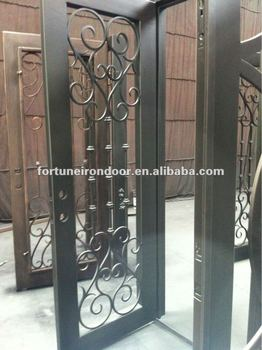 business glass front door. Safety Wrought Iron Entry Doors Glass Front Door With Many Nice Paint Business Made In China E