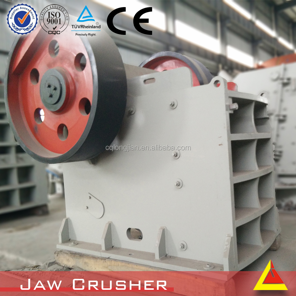 Commonly used type of calcite jaw crusher processing of Rock crushing plant