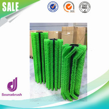 factory custom industry street hard nylon rotary brush sweeper for cleaning