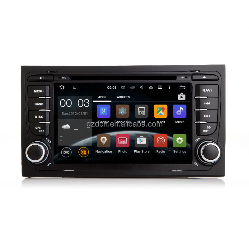 <strong>android</strong> 7.1 quad core Car DVD Player For Audi A4 Seat Exeo with Can <strong>Bus</strong> 2G+16G WS-9411