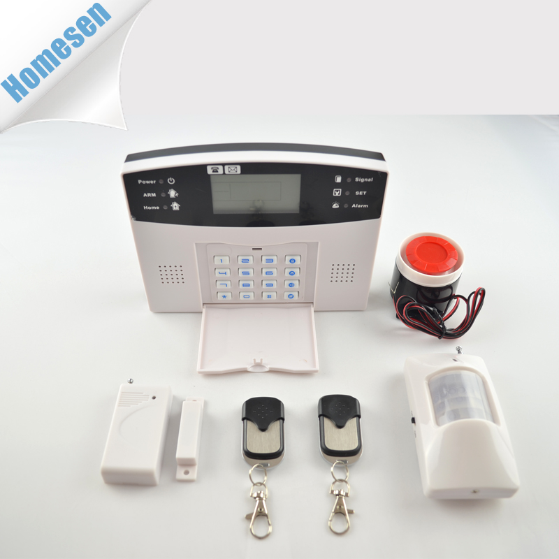 Home Security 433MHz / 315MHz Wireless GSM Alarm System OEM