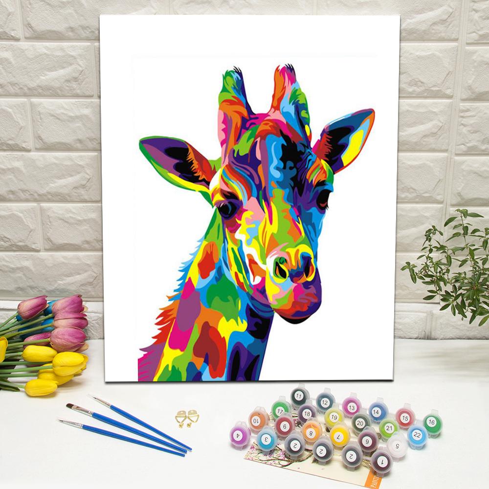 Großhandel Gemälde Giraffe Kaufen Sie Die Besten Gemälde Giraffe
