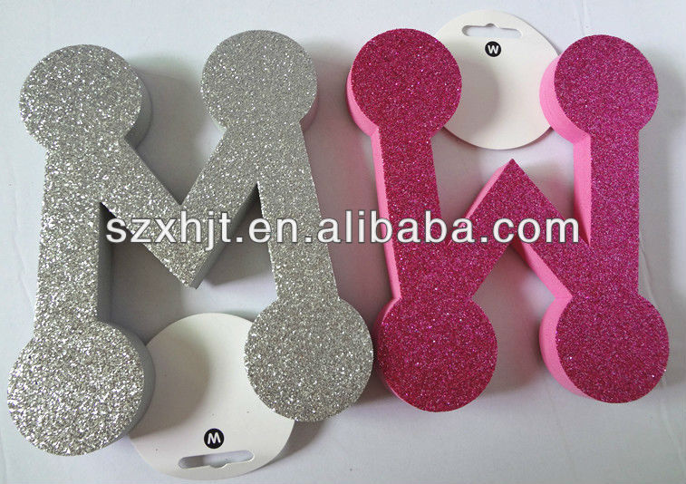 large glitter foam alphabet letters buy foam alphabet letterscraft foam letterschildren foam letters product on alibabacom