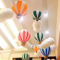 Standard Size Model Hot Air Balloon For Gift Paper Lantern