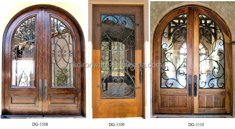 Top Selling Decorative Door Window Inserts Or Iron Grill For Wood Doors
