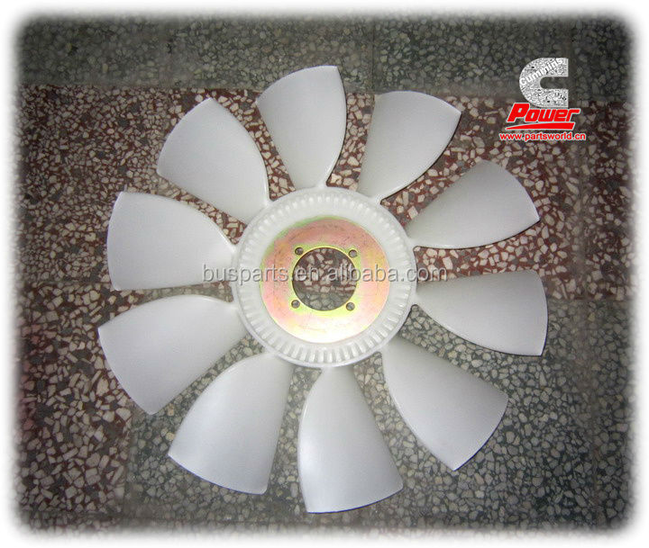 Genuine DCEC Fan Wheel D3911326,Higer, Yutong Bus,DongFeng, KingLong Bus, Zonda,ankai bus