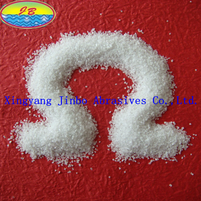 top quality refractory cement raw material white fused alumina for cement in reasonable price from China