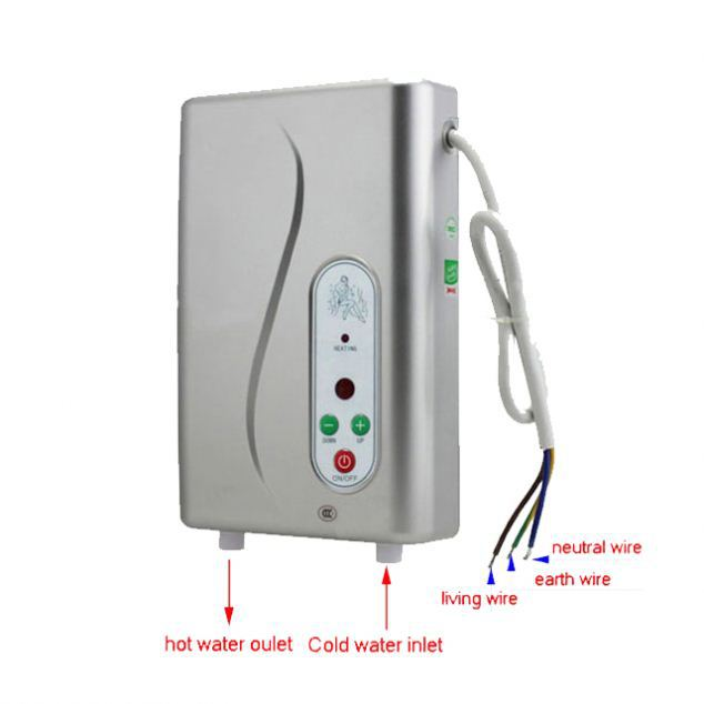Jnod 230V Instant Electric Water Heater Substantially Reduces Risk
