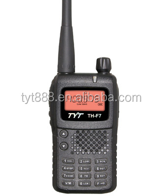 Ham radio TYT TH-F7 with Multi-functional side key two way radio