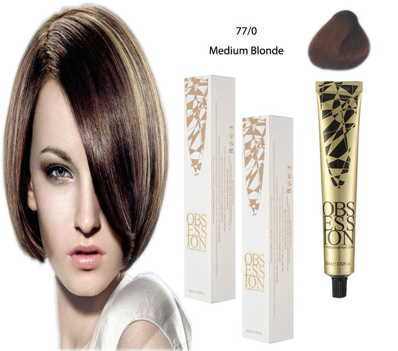 Salon Hair Dye Professional Hair Color Cream Wholesale Hair Salon