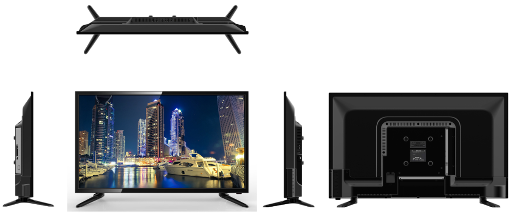 "23.6"" tvs victor glx hindi video full hd 3d led tv television parts"