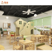High Quality Nursery Furniture Kids Club Children Furniture Indoor Lobby Play Area Baby Pre School Furniture Sets