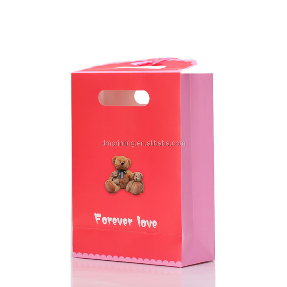 wholesale custom logo foldable sweet design for girl candy apple packaging paper gift box