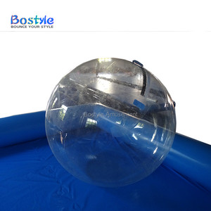 Excellent material pvc clear inflatable water walking ball floating water ball for sale