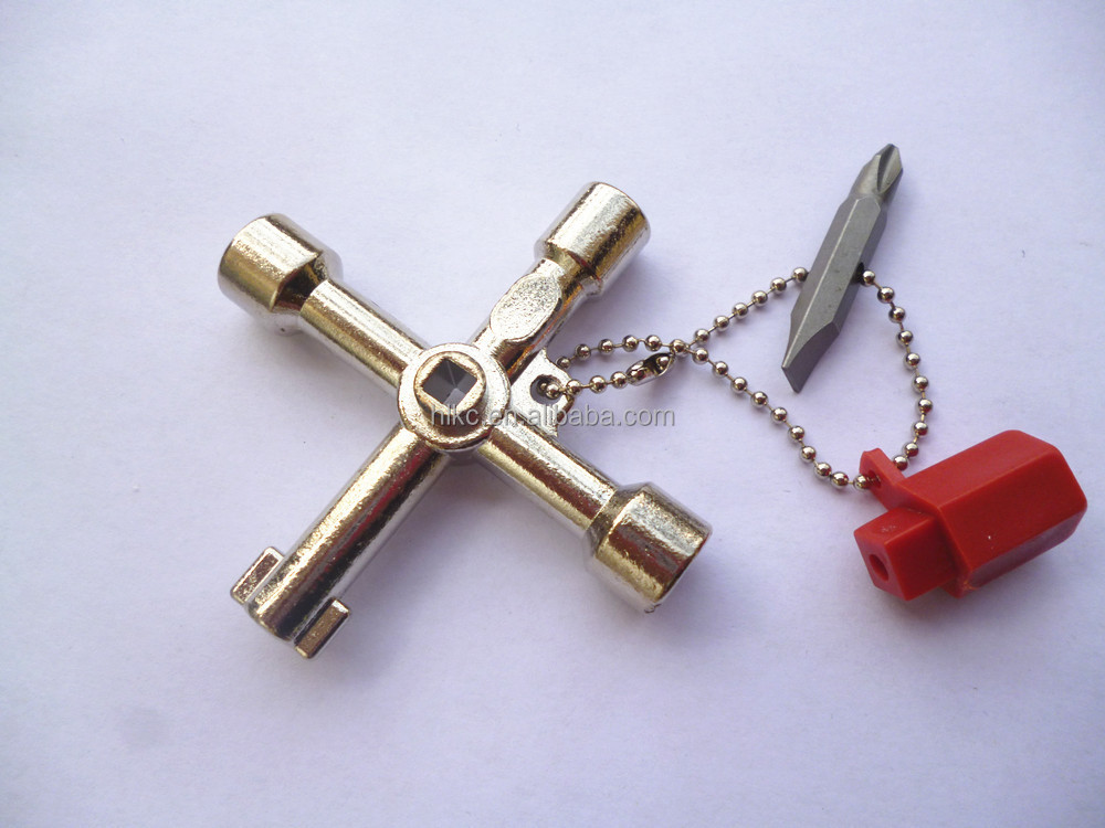 Universal Multi-function Triangle Cross Key Train Electrical ...