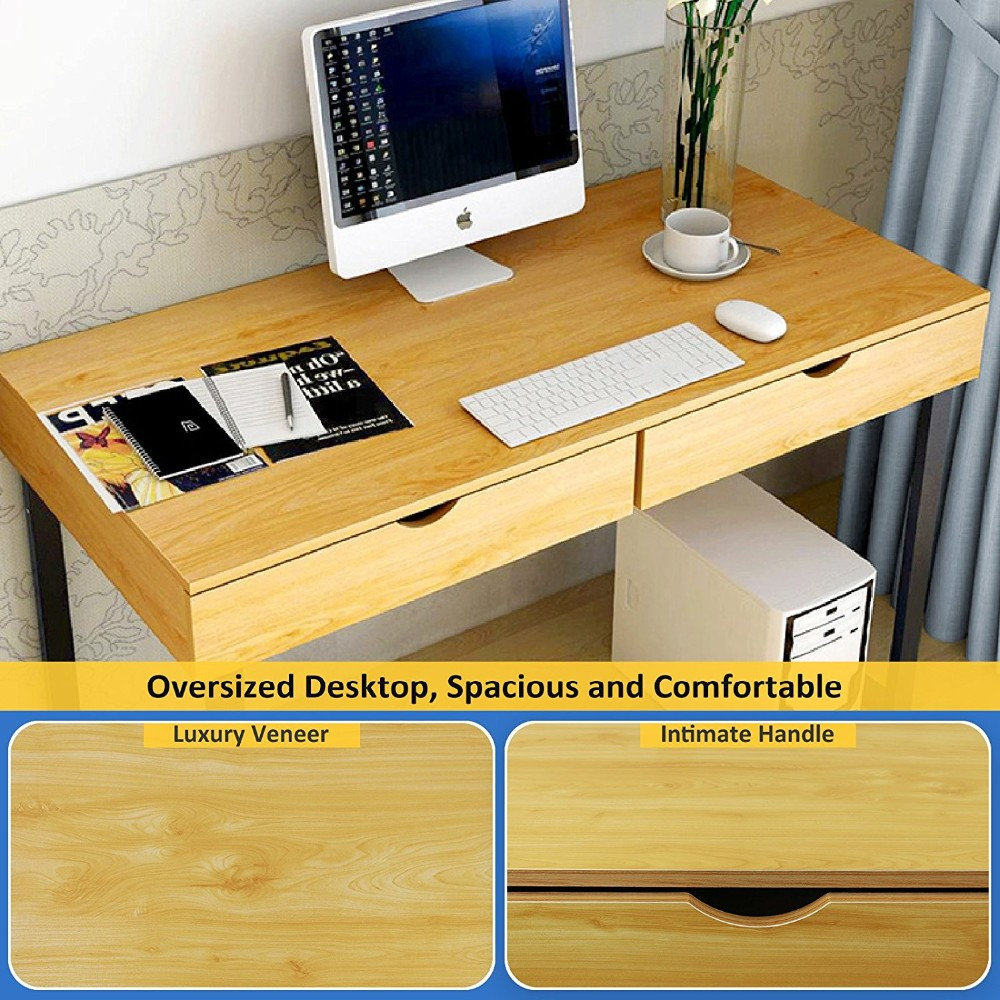 2017 Latest Office Table Design Wooden Computer Table Models With ...