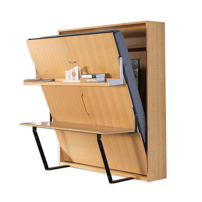"""Tempat Tidur """"Dinding Tersembunyi Multifungsi Modern Lipat Vertikal"""