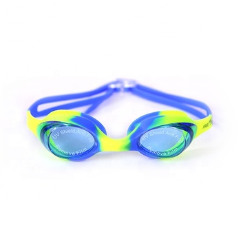 YG-1300 Best quality colorful silicone swimming goggles for child