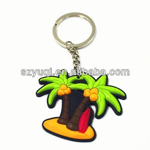 New arrival mini live plant key chain Pvc Keychain shenzhen supplier