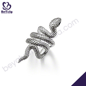 new design high quality fashion 925 sterling silver punk gothic earring for men