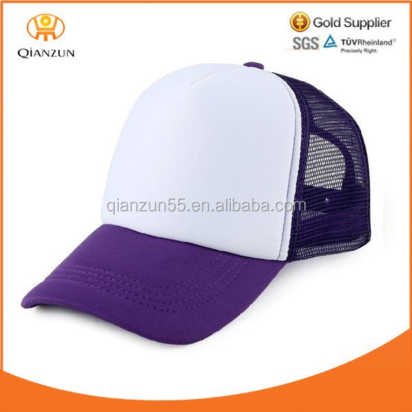 Stocking Cool Purple Classic Foam Trucker/Baseball/Golf Blank Snapback Mesh Baseball Cap Hat