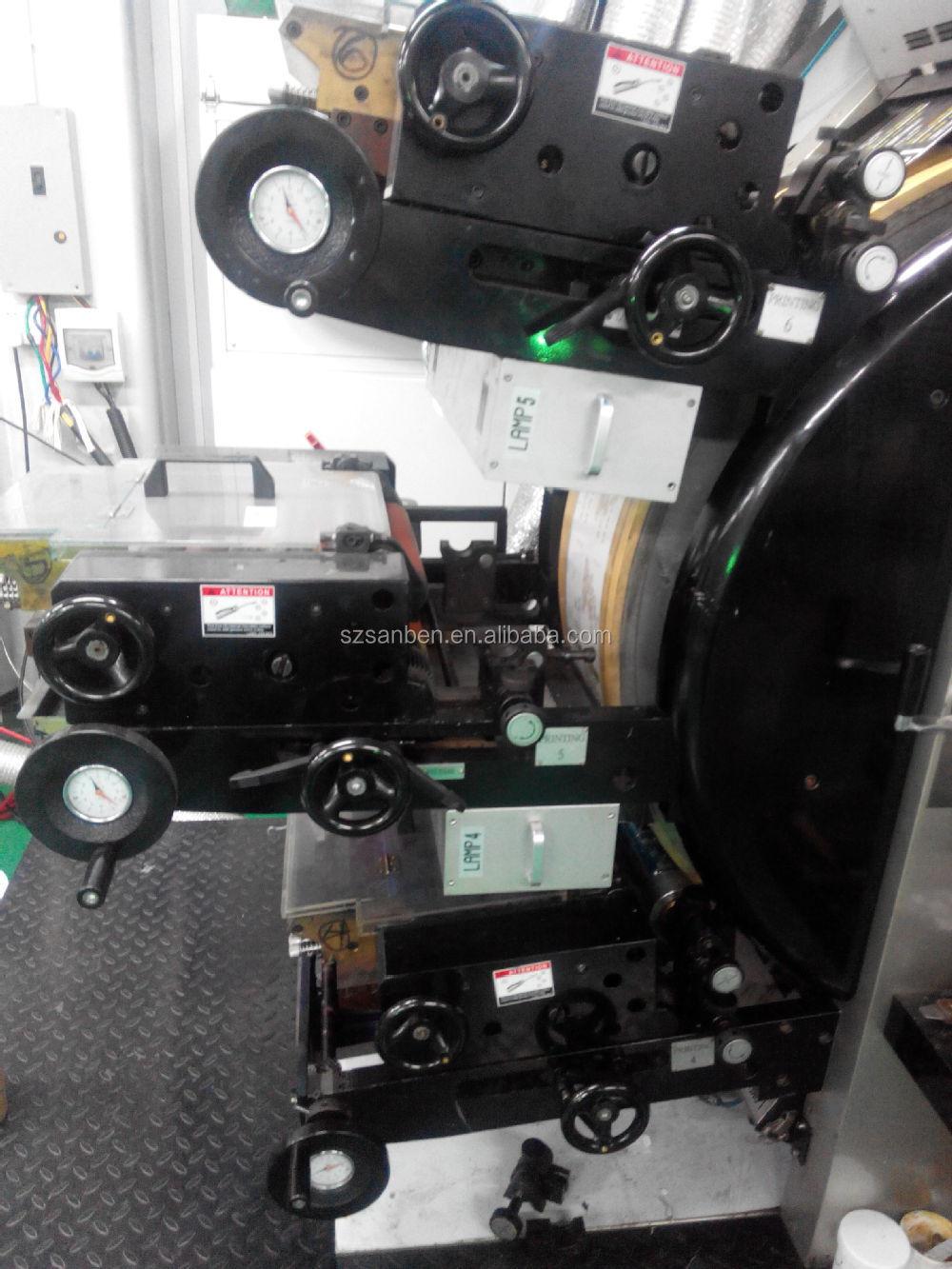 sbl-300) Letterpress Label Printing Machine,Automatic Satallite ...