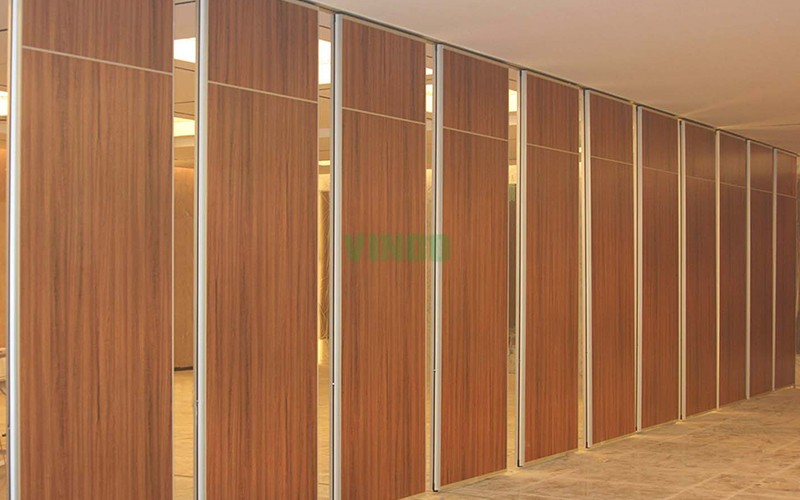 Indoor sound insulation movable wall partitions system for Movable walls room partitions