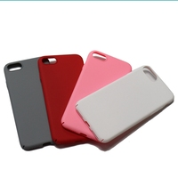 Logo Printing Available Plain Hard Plastic Phone Cases Hard Cover Case for iPhone