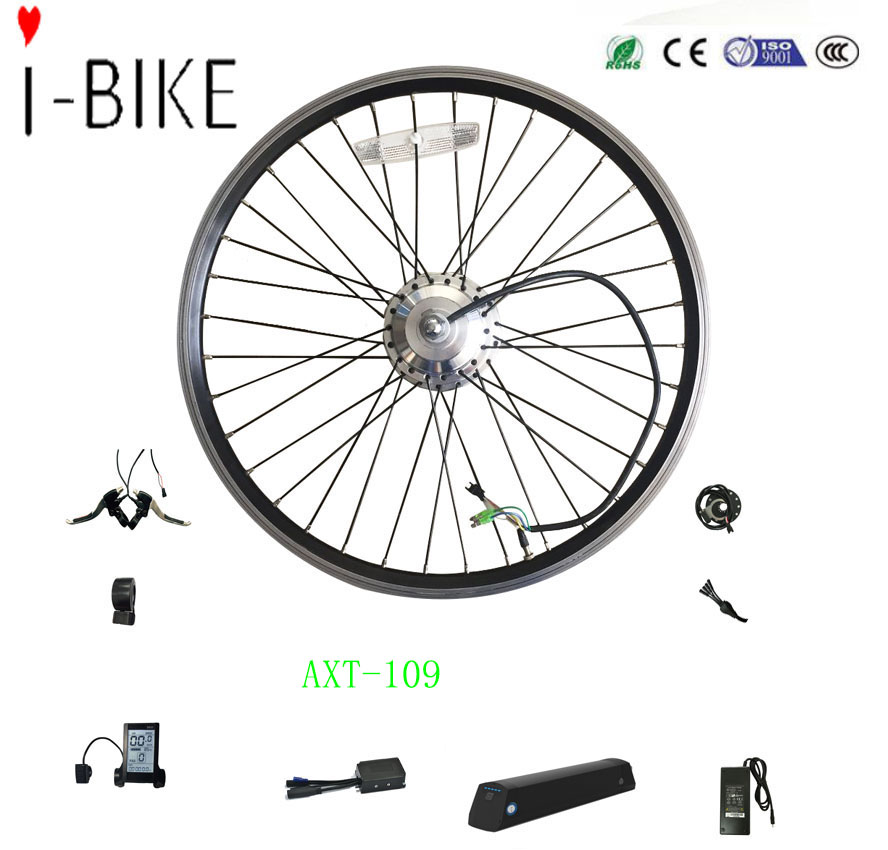 china orginal ebike parts 28 inch eletric bike conversion kit with 36v dc generator