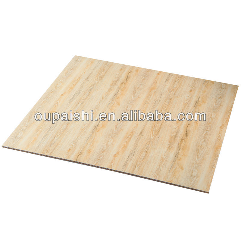 595*595*7 wood color hot stamping PVC ceiling panel