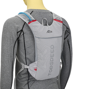 Convenient ultra-light breathable bike replenishment backpack