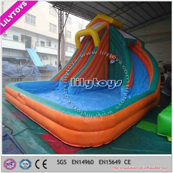 Commercial used large inflatable pool slide for sale buy - Used swimming pool slides for sale ...