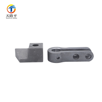 Pull rod auto parts carbon steel 1045 precision casting