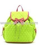 COTTON QUILTED MONOGRAMMABLE BACK PACK