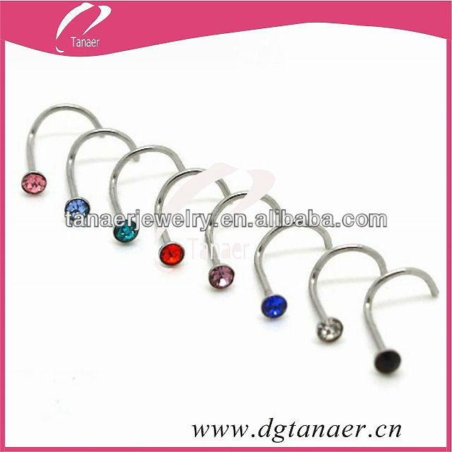 hot sale customized magnetic nose stud