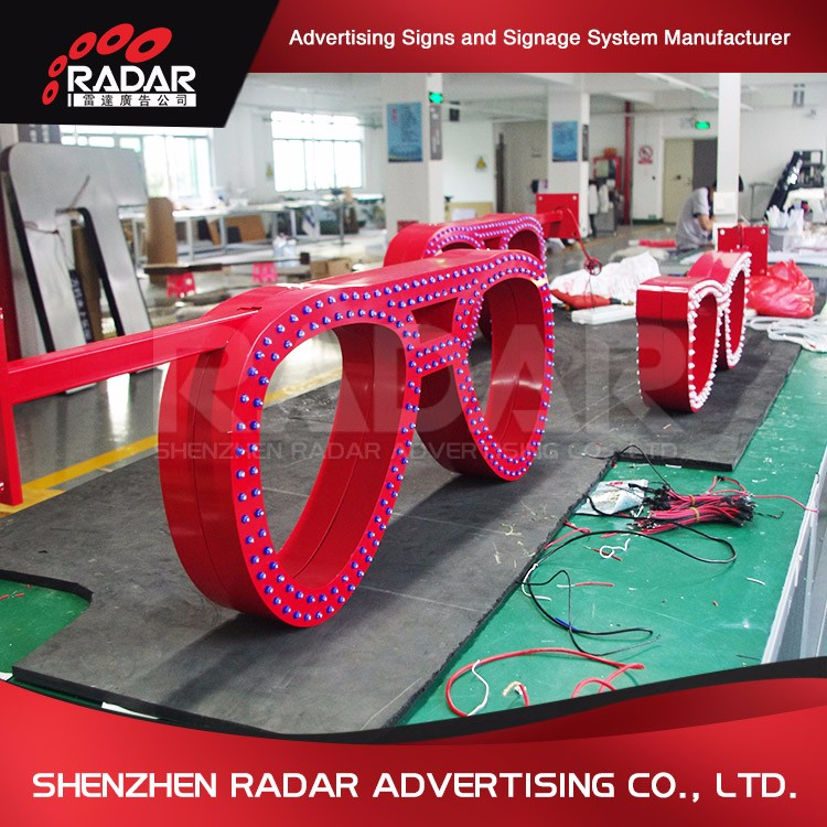 Promotional OEM led message sign for Advertising Light Boxes