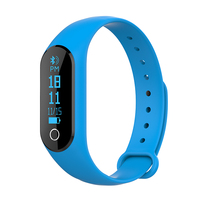 Smart Bracelet OLED Wrist Band Sport Watch with Heart Rate Monitor Similar with Xiao Mi M2