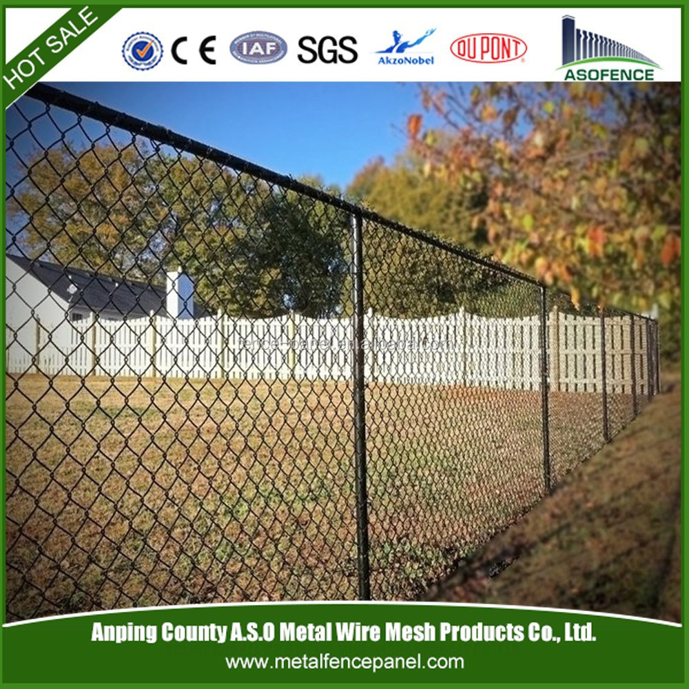 Alibaba express hot sale chain link fencing privacy slats / chain link fencing prices home depot (factory)